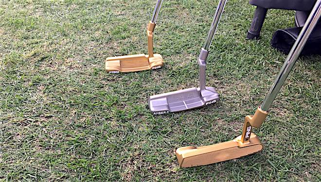 PING's TR 1966 putters combine the company's traditional putter shapes with their recently developed True-Roll face technology.