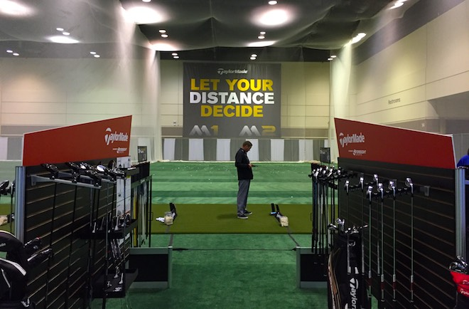 Known as a company that makes bold statements, TaylorMade followed their marketing playbook at the 2016 PGA Show.