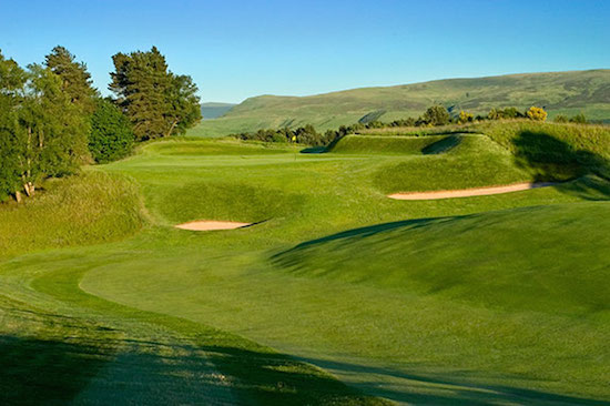 The King's Course at Gleneagles has a distinctly different--and far more traditional--look than its more famous PGA Centenary Course. (Courtesy of Gleneagles)