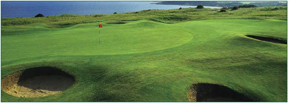 A composite of Gullane Golf Club's No.1 and No. 2 courses will host the 2015 Scottish Open. Will it be a trial run for a future Open Championship? (Gullane Golf Club and Glyn Satterley)