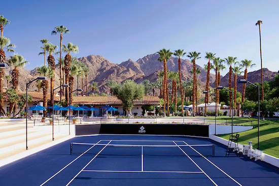 La Quinta Resort & Club's tennis facility features a sunken, stadium-style Center Court. (La Quinta Resort & Club)