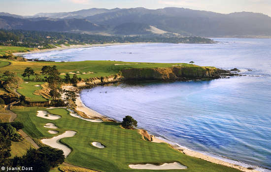 Normally thought of as a U.S. Open site of late, Pebble Beach also hosted the 1977 PGA, won by Lanny Wadkins. (Joann Dost)