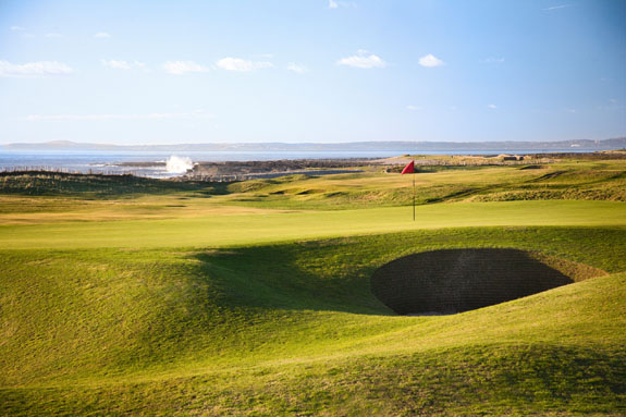 Wales would cherish the opportunity to host an Open Championship. Royal Porthcawl has the Senior Open this year, is the main one coming soon? (© Crown Copyright (2010) Visit Wales)