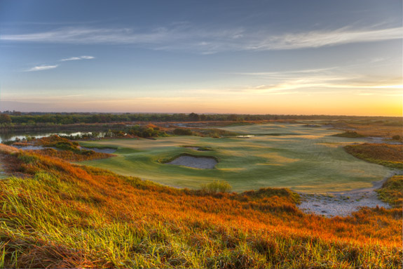 Streamsong's unique setting is a direct result of the site's industrial history. (Larry Lambrecht)