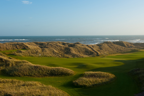 Trump International has length, challenge and space - all prerequisites for any Open site. (Brian Morgan)