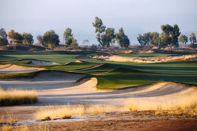 Southern Dunes Golf Club, 16th Hole. (Photo by Allan Henry / ahenry.com)