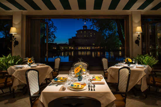 Turn on images to see The Del Lago restaurant at The Broadmoor