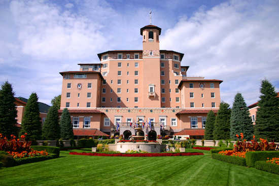 Turn on images to see another incredible image of The Broadmoor