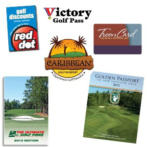 A collection of discount golf passes