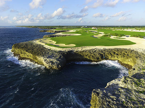 Officially private, for now anyone can play the Corales Course on their Dominican Republic golf vacations.