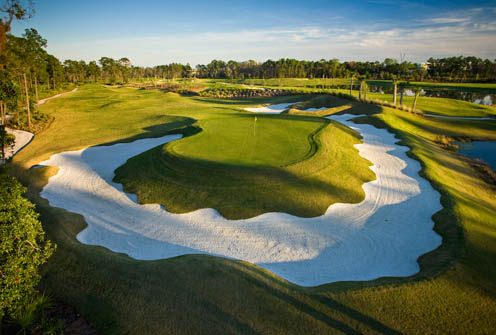 You can now play the world's first Waldorf Astoria golf course on Florida golf vacations.
