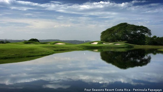 "The par-3 fifth hole at Four Seasons Golf Club Costa Rica is ""No.1."""