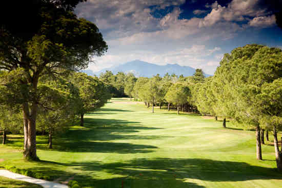 The golf course at Belek, Turkey's Gloria Resort