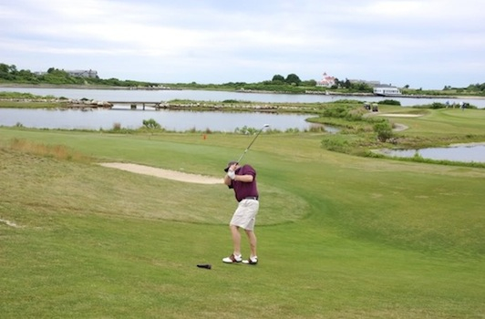 It may not be easy, but there are ways you can play Fishers Island Club without a member connection.