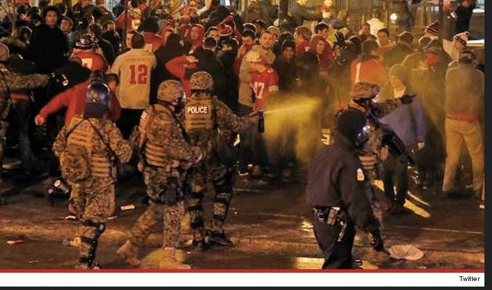 At least Ohio State fans have the decency to do their riotous partying outdoors, rather than at golf/ski resorts!