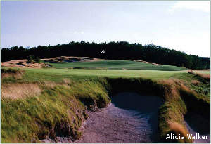 The Kingsley Club is a great starting point for a Northern Michigan golf vacation.