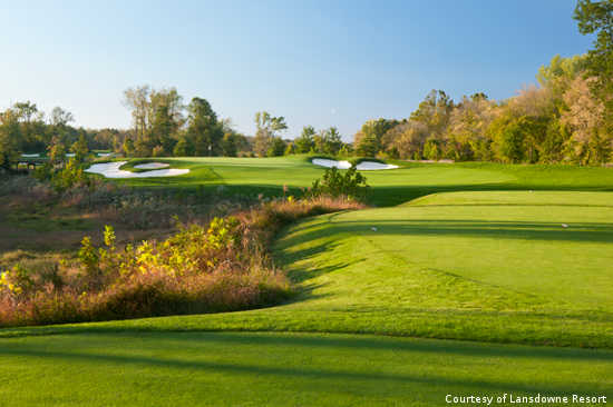 The Norman Course is just one reason Lansdowne is the best golf resort in the Washington, DC area.