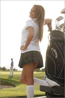 ParMates provides another option for hiring female forecaddies on Las Vegas golf vacations.