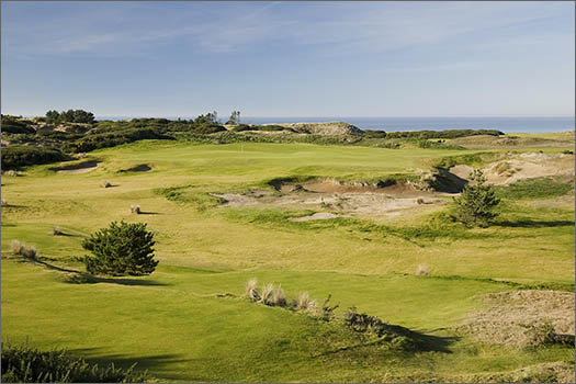 Old MacDonald opens for Bandon Dunes golf vacations on June 1. (Photo by Wood Sabold)