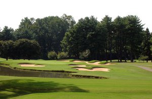 There are plenty of PGA Championship courses you can play on golf vacations, including North Carolina's Tanglewood Park Championship Course, above.
