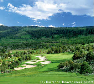 The golf is scenic and dramatic at Red Sky Ranch Golf Club.