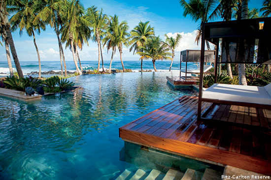 The addition of the Ritz-Carlton Reserve adds a level of luxury to Dorado Beach Resort & Club.
