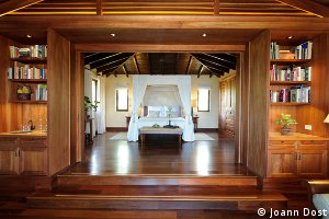 The casitas at Royal Isabela golf resort are beautiful and comfortable.