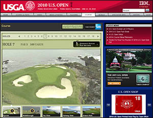 Websites like USOpen.com provide plenty of inspiration for watching the tournament...or for planning Pebble Beach golf vacations.