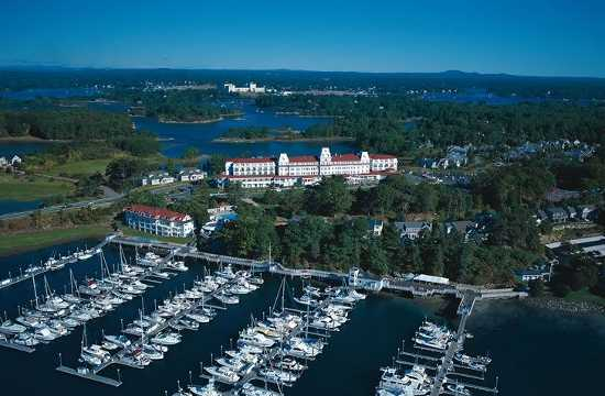 New Hampshire's Wentworth-by-the-Sea resort is one of many attractive, but perhaps lesser-known spots for golf vacations.