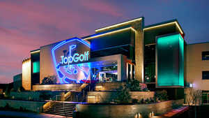 TopGolf Houston West/Katy - Exterior by night