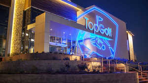 TopGolf The Colony - Exterior by night