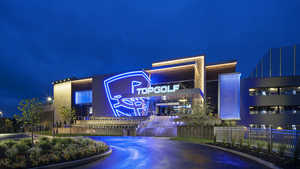 Topgolf Chesterfield by night
