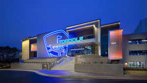 Topgolf Huntsville by night