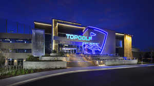 Topgolf Jacksonville by night