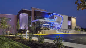 Topgolf Mt. Laurel by night