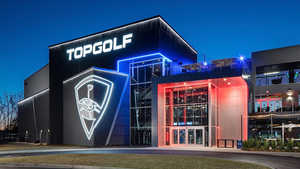 Topgolf Myrtle Beach by night