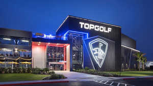 Topgolf Pittsburgh by night