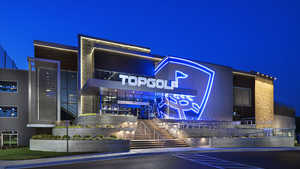 Topgolf West Chester by night